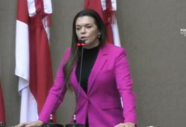 'Foi negociada a vaga do TCE, a vaga do governador e a presidência da ALEAM', afirma Alessandra Campêlo