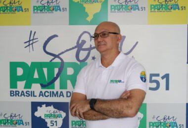 Pré-candidato do Patriotas apresenta crescimento em pesquisa divulgada, nesta terça-feira