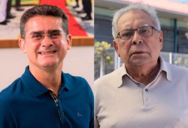 Pouco mais de 8% separaram David Almeida de Amazonino na Eleição de 2018