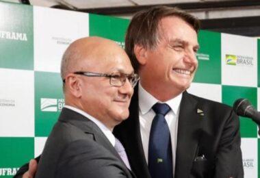 Mídia nacional repercute declaração de Bolsonaro sobre Alfredo Menezes