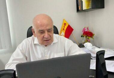 Sarafa foge do tema político e chama deputados a ajudarem de forma efetiva na crise de oxigênio no AM