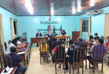 MP Eleitoral faz acordo com prefeturáveis de Nhamundá para campanha com medidas contra a Covid-19