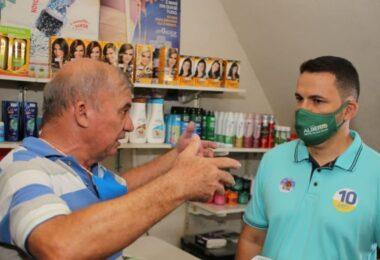 Alberto Neto reforça compromisso com os comerciantes: 'Serei um prefeito parceiro'