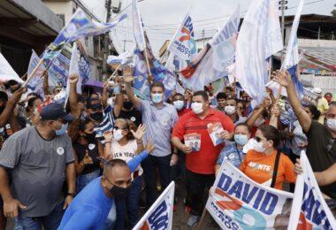 David e Marcos Rotta iniciam caminhadas nas ruas de Manaus