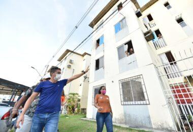 David e Rotta pretendem criar programa para construir banheiros nas casas da periferia