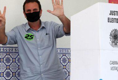 No Rio, Eduardo Paes diz que saúde será prioridade de seu governo
