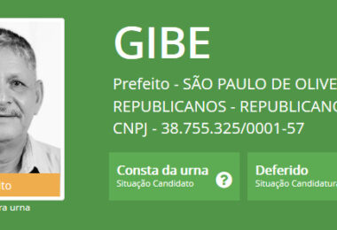Juiz cassa o registro de candidatura do prefeito eleito de São Paulo de Olivença