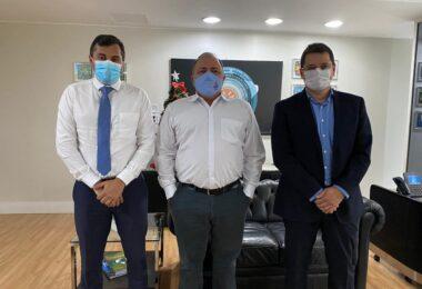 Em Brasília, Wilson Lima garante apoio do ministro Pazuello para assistência a pacientes pós-Covid