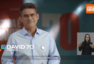David Almeida mira Manaus do futuro e reforça rede de proteção social no segundo turno