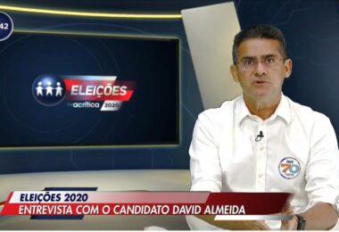 'Em 1 ano Manaus não sentirá mais falta dos caciques', afirma David Almeida