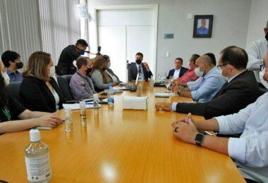 Primeira reunião de transição de David é marcada por cooperação técnica na prefeitura