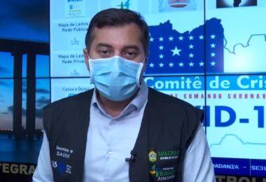 Wilson Lima agradece mobilização e diz que falta de oxigênio não tem a ver com falta de dinheiro