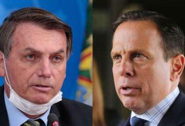 Vídeo: 'Meu governo não vai comprar a tua vacina, tá ok?', diz Bolsonaro para Dória