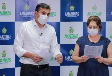 Governador Wilson Lima Lamenta morte da diretora da FVS-AM