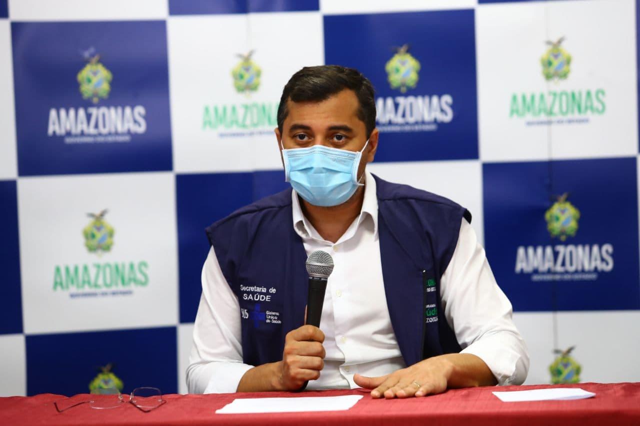 Wilson Lima afirma que a meta é vacinar 214 mil pessoas com mais de 40 anos