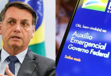 """""""O nome é auxílio, não é aposentadoria"""", dispara Bolsonaro sobre auxílio emergencial"""