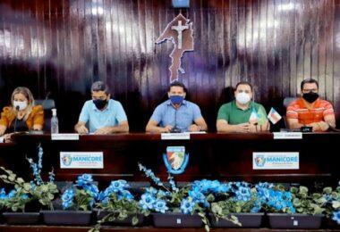 'Enquanto for deputado, trabalharei em prol de Manicoré', diz Roberto Cidade em visita o município
