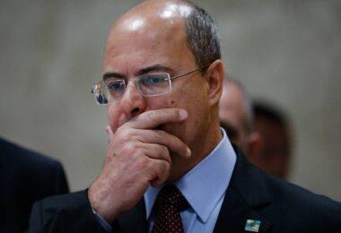 Justiça ouve na quinta-feira governador afastado do Rio, Wilson Witzel