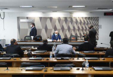 Governadores relatam a senadores falta de insumos para tratar covid-19