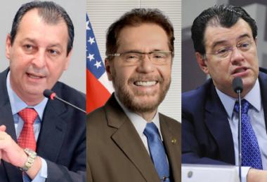 Senadores Omar, Plínio e Braga votaram a favor da criação da CPI da Covid-19