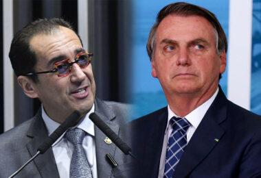 Bolsonaro cobra pedidos de impeachment de ministros do STF a senador Jorge Kajuru