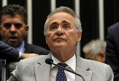 Flávio Bolsonaro chama Renan Calheiros de 'vagabundo' na CPI da Covid