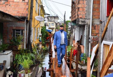 Vereador solicita Auxílio Enchente de R$ 300 para famílias manauaras
