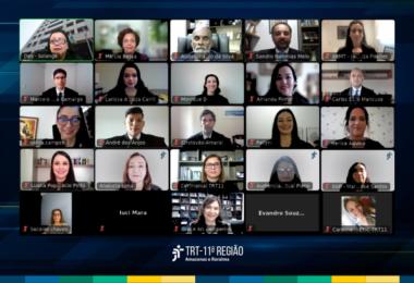 TRT11 empossa 11 novos juízes em solenidade telepresencial