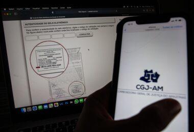Cartórios do AM se aproximam de 1 milhão de atos com selo digital realizados nos cinco primeiros meses de 2021