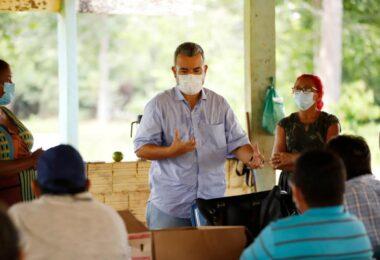 Vereador Peixoto visita comunidades rurais e recebe demandas