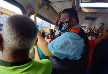 William Alemão volta a fiscalizar ônibus em Manaus