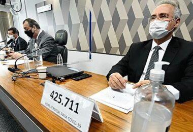 Renan Calheiros diz que Fabio Wajngarten está mentindo na CPI da Covid