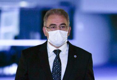 Comissão da Covid-19 ouve o ministro da Saúde nesta segunda-feira