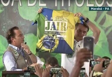 MPE pede que Bolsonaro seja multado por propaganda eleitoral antecipada