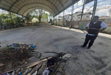 Vereador denuncia obra inacabada deixada pela gestão do ex-prefeito Arthur Neto