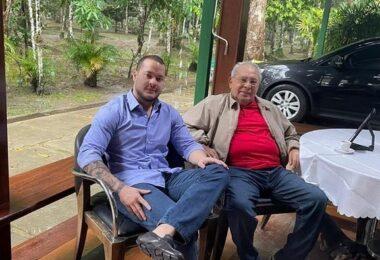 Reunião entre Amazonino Mendes e Adail Filho marca aliança política