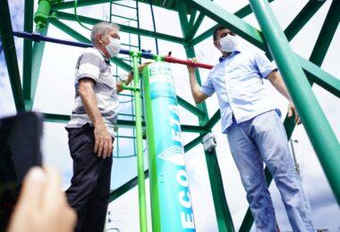 Wilson Lima inaugura agência da Cosama e leva projeto 'Água Boa' para Nova Olinda do Norte