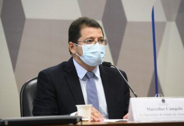 CPI da Pandemia: Ex-secretário de Saúde nega que Amazonas tenha testado imunidade de rebanho