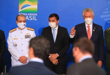 Wilson Lima participa da posse do novo ministro-chefe da Casa Civil, em Brasília