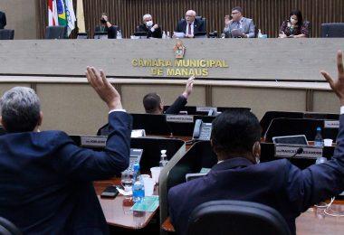 Vereadores de Manaus aprovam seis Projetos de Lei em pauta com 24 matérias analisadas nesta segunda