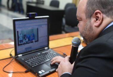 Corregedoria de Justiça evidencia projeto de audiências por videoconferência desenvolvido pelo TJAM em conjunto com a 3ª VECUTE