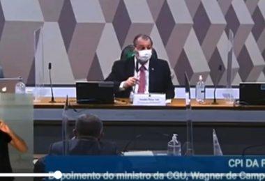 Omar Aziz xinga ministro da CGU durante áudio vazado; veja vídeo