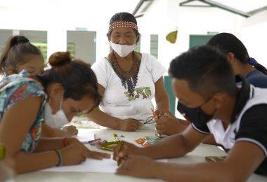 Educadores reconhecem como marco histórico regulamentação das escolas municipais indígenas
