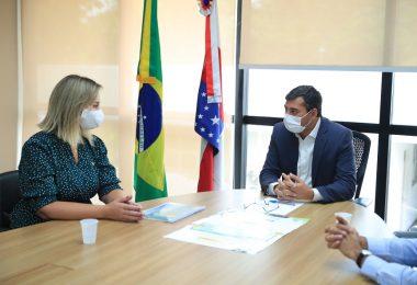 Wilson Lima recebe representante do Ministério da Infraestrutura para tratar de audiências públicas para obras na BR-319