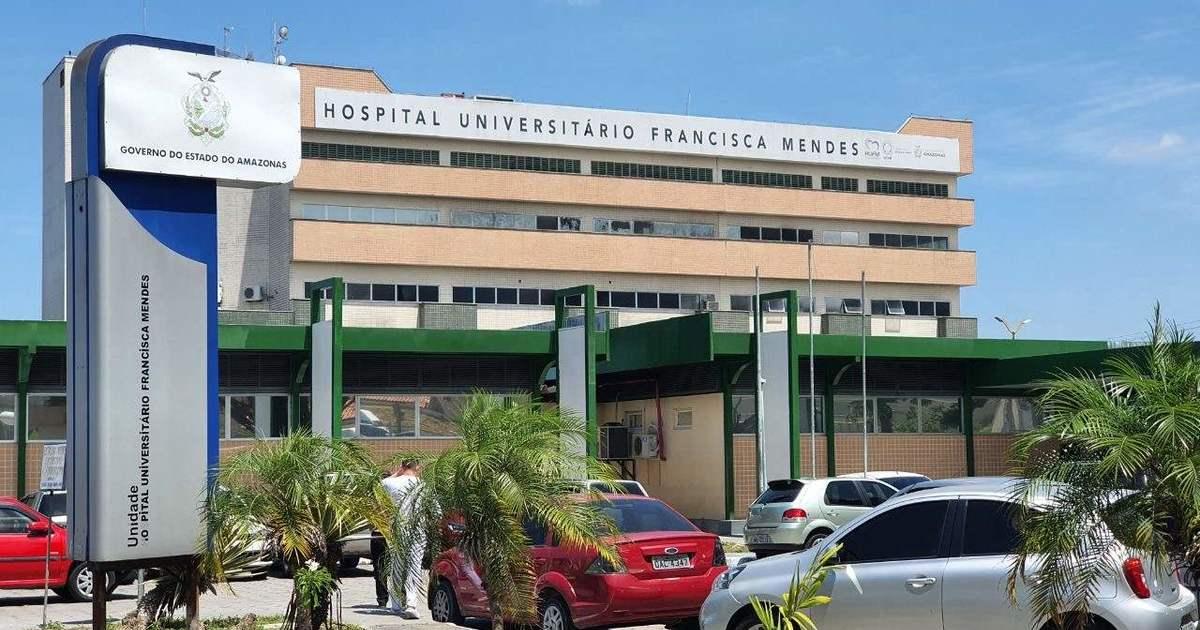 Fachada do Hospital Francisca Mendes