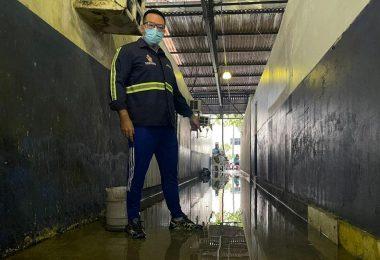 Rodrigo Guedes denuncia más condições da feira do Santo Antônio